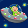 Space learning game for children age 2-5: Train your skills for kindergarten, preschool or nursery s